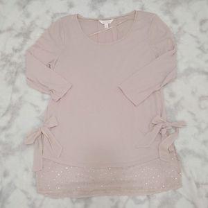 Blush Pink LC Lauren Conrad Blouse